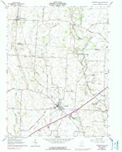 YellowMaps Jeffersonville OH topo map, 1:24000 Scale, 7.5 X 7.5 Minute, Historical, 1961, Updated 1990, 27 x 22.1 in