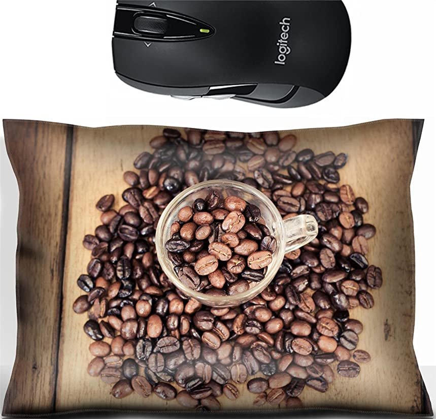 Liili Mouse Wrist Rest Office Decor Wrist Supporter Pillow IMAGE ID 32502193 Roasted coffe bean on wood table with vintage filter qvu72740613