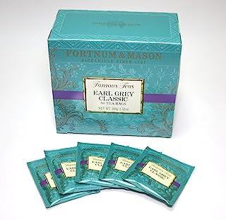 British Royal Warrant Fortnum & Mason Earl Grey Tee Box-Typ Teebeutel 50-Eingang Fortnum & Mason EARL GREY