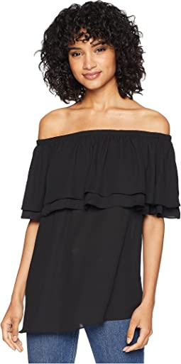 Vienna Off the Shoulder Ruffle Top