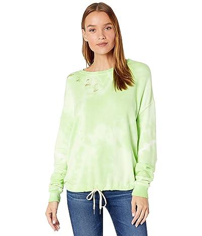 n:philanthropy Olympia Tie-Dye Distressed Sweatshirt Women