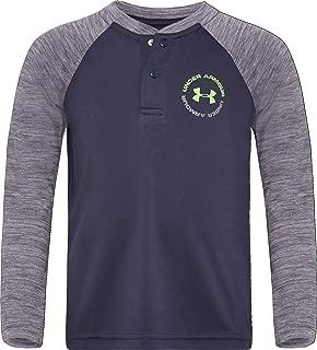 Under Armour Boys' Long Sleeve Henley Tee Shirt