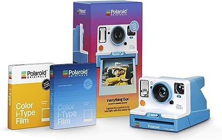 Polaroid Originals Everything Box - Onestep 2 VF Summer Blue Camera and Film Bundle (4937)