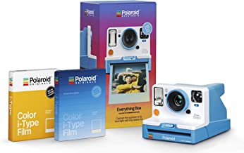 Polaroid Originals Everything Box - Onestep 2 VF Summer Blue Camera and Film Bundle (4937)