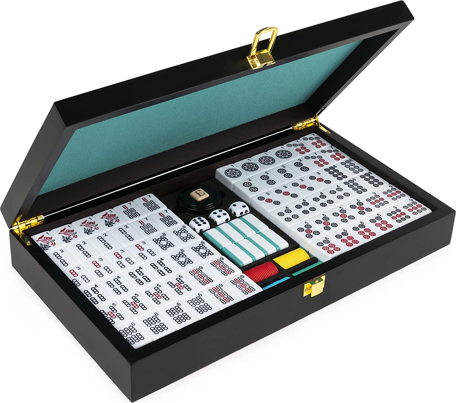 Legacy Courier Manufacturer regenerated product shipping free Deluxe Double-6 Dominoes Classic Original Game Board Set