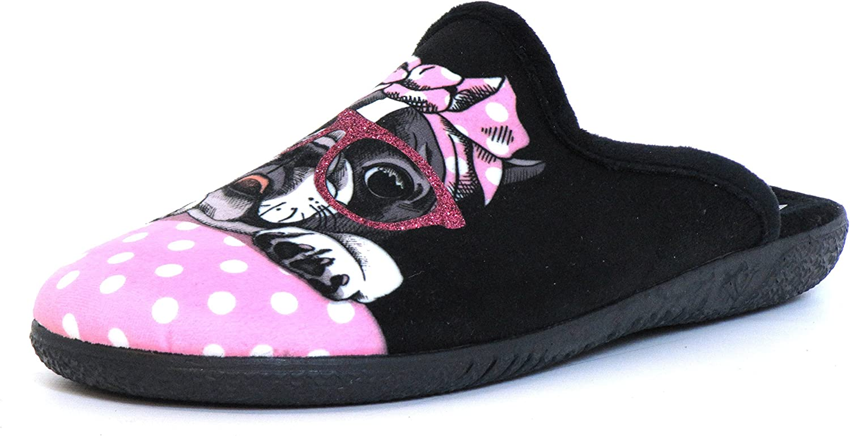 Miro Women Slippers Pink, (red-Kombi) 6215139 Pink
