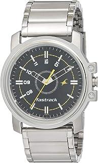 Fastrack Economy Analog Black Dial Men's Watch -NG3039SM02C