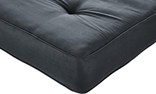 DHP 8-Inch Independently Encased Coil Futon Mattress, Full Size, Gray