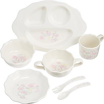 錦化成 ベビー食器 はじめての食器セット ミニーマウス(GF-7)