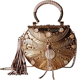 Silvia Iron Boxed Mini Handbag