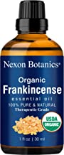 Nexon Botanics Organic Frankincense Essential Oil 30 ml - USDA Certified Frankincense Oil Organic - Pure, Natural Frankensence Essential Oil for Diffuser and Aromatherapy