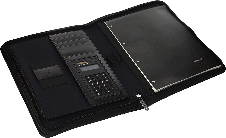 Filofax 829841 Aktentasche Microfiber Zipped Folio mit Rechner, schwarz B00J9L0FS8   | Spielzeug mit kindlichen Herzen herstellen