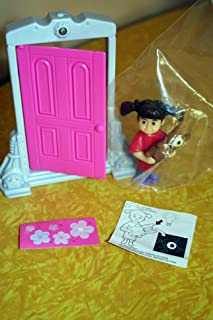 Monsters, Inc Boo Figure Featuring One Glow-in-the-Dark Eye and Doorway McDonald's Happy Meal Toy