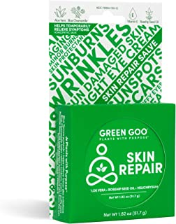 Green Goo Natural Skin Care Salve, Skin Repair and Protection, 1.82-ounce Large Tin