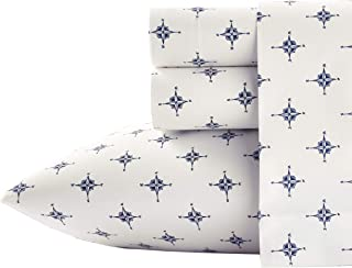 Poppy & Fritz Compass Cotton Sheet Set, Queen