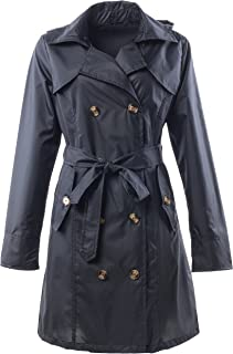 Best calvin klein double breasted skirted raincoat Reviews