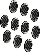 Anthrazit KOTARBAU L/üftungsgitter 125 mm Rund Flansch 4 Farbe Bel/üftung Insektenschutzgitter Lamellengitter Bel/üftungsgitter Rohranschluss Abluftgitter Gitter