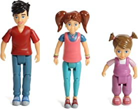 Beverly Hills Doll Collection TM Sweet Li'l Family Set of 3 Action Figure Set: Girl, Boy and Toddler