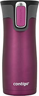 Contigo AUTOSEAL West Loop Vaccuum-Insulated Stainless Steel Travel Mug, 16 oz, Radiant Orchid Trans Matte