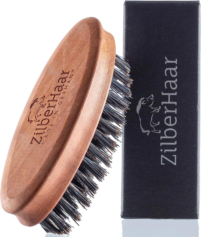 ZilberHaar Pocket Mustache and All items in the store Beard Bristles Boar Stiff Store - Brush
