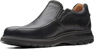 حذاء بدون رباط للرجال من كلاركس، مقاس, (اسود), 9 UK