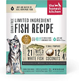 Honest Kitchen Limited Ingredient Fish Dog Food Recipe 10 lb box - Brave