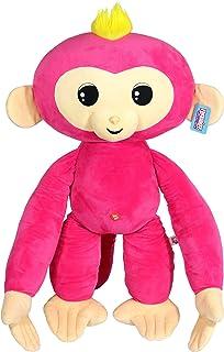 Commonwealth Toys Fingerlings Monkey Large Plush, Pink