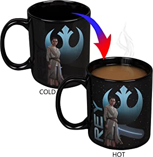 Star Wars : The Last Jedi Episode 8 - Large 20oz Rey Heat Reveal Coffee Mug - Lightsaber Activates w/ Heat