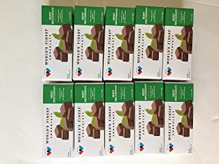 FRESH and NEW - 10 Boxes - World's Finest Chocolate -Mint Meltaways (2.3OZ)