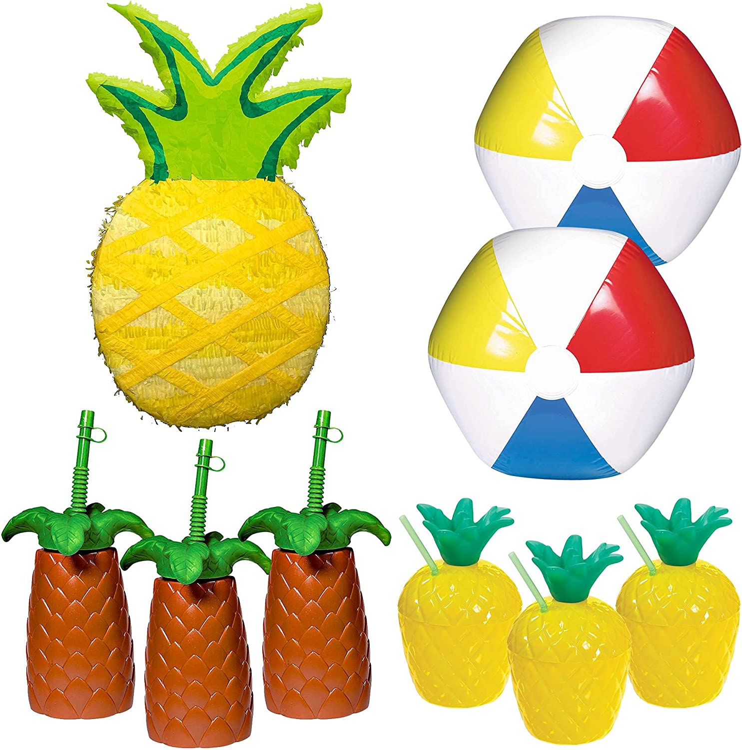 Party City Pineapple Tucson Mall Ranking TOP18 Pinata Summer Kit 6 Guests for
