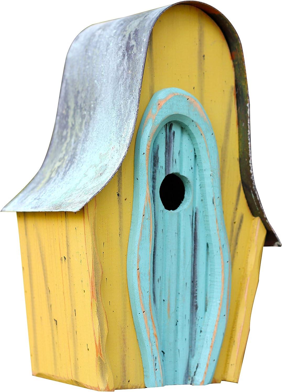 Heartwood 236A Lanceloft Bird House in Yellow
