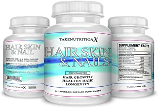 Hair Growth Formula For Longer, Stronger, Healthier Hair - Scientifically Formulated with Biotin, trans-resveratrol, Ginger Root,Tumeric,Coq10,Tumeric Age Defying For All Hair Types 60 capsules