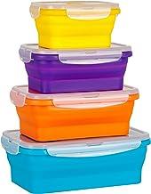 Flat Stacks Recipientes de almacenamiento de cocina de