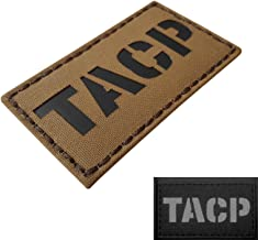 IR Coyote Tan TACP Tactical Air Control Party Air Support AFSOC AFSC 1C4X1 Infrared Morale Touch Fastener Patch