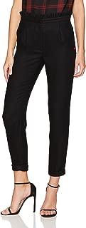 Dear Drew by Drew Barrymore Women's Arthur Avenue High Waist Ruffle Trouser