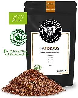 Edward Fields - Rooibos Orgánico de alta calidad. Cantidad: 100g. Formato: Granel. Origen: Sudáfrica. Detox, antioxidante.