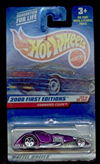 Hot Wheels 2000-93 First Editions #33 Hammered Coupe 1:64 Scale