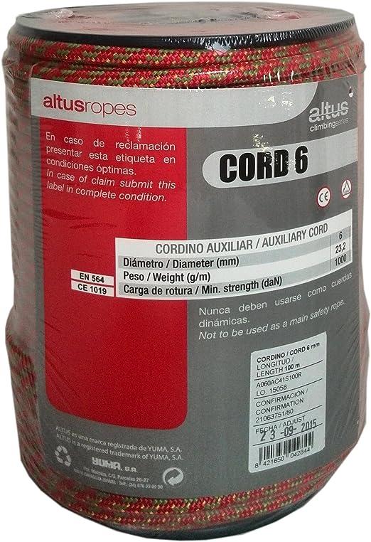 ALTUS 9200303758 Cordino Auxiliar, Unisex, Verde, 100 Metros ...