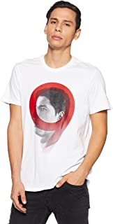 Camiseta Línea Luis Suarez, Hombre, Blanco, 3XL
