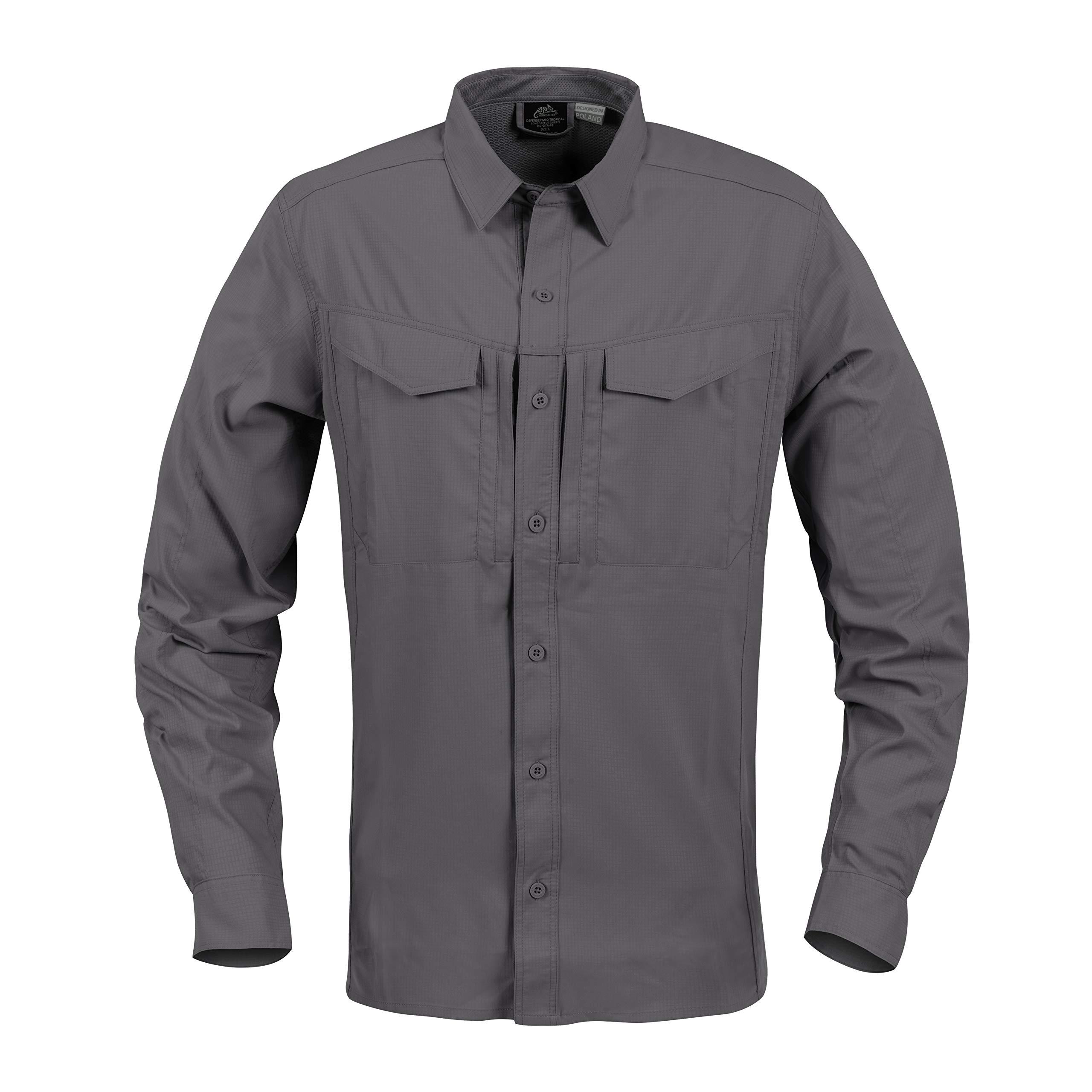 Best Buy Helikon-Tex Defender Mk2 Gentleman Shirt & Tropical Shirt Urban Line Reviews