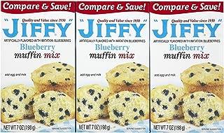 Jiffy Blueberry Muffin Mix, 7 oz, 3 pk