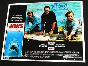 autographed jaws memorabilia