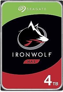 Seagate IronWolf 4 To, Disque dur interne NAS HDD – 3,5 pouces SATA 6 Gbit/s 5 900 tr/min, 64 Mo de mémoire cache, pour NA...