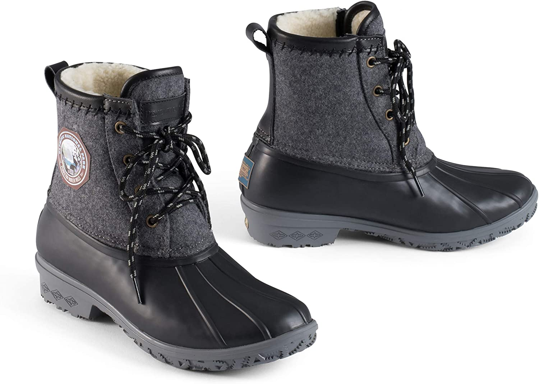 Pendleton Women's Heritage Pattern Slip-Resistant Duck Boot