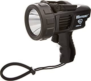 Streamlight 44911 Waypoint Spotlight with 120-Volt AC Charger, Black – 1000 Lumens