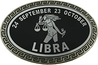 Zodiac Astrology Astronomy Libra Signs Belt Buckle Bottle Opener Tattoo Costume