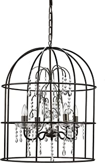 metal birdcage chandelier