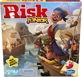 Risk Junior-bordspel voor kinderen vanaf 5 jaar, voor 2 tot 4 spelers