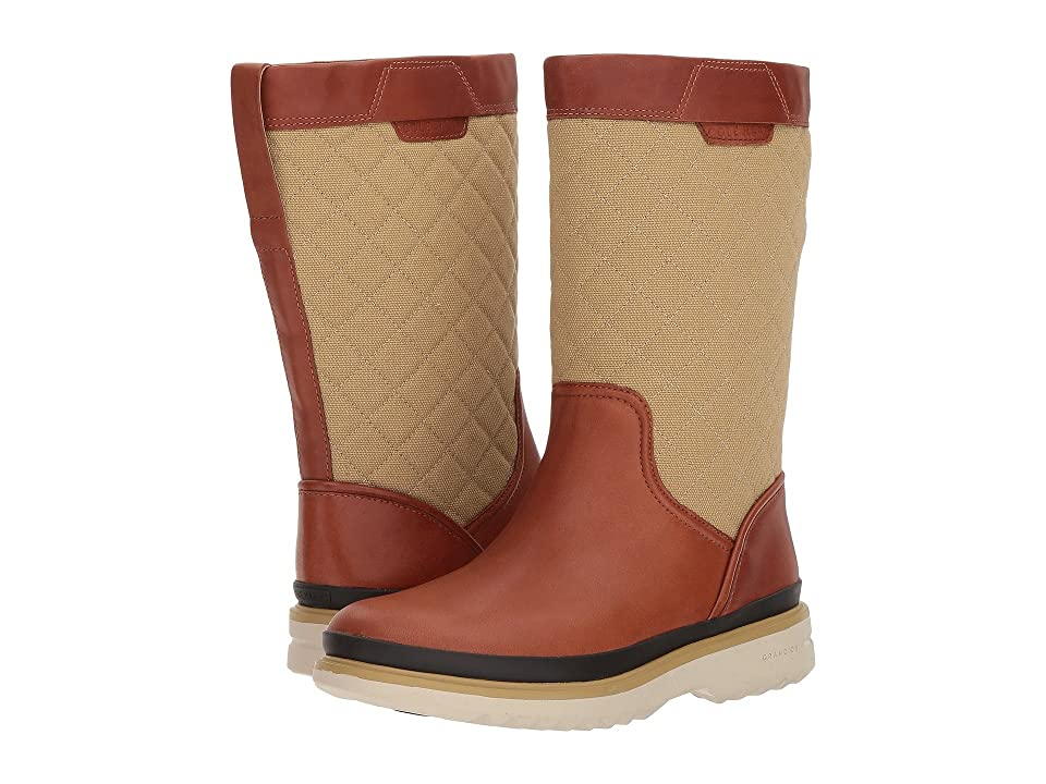 Cole Haan Millbridge Pull-On Boot Waterproof (Chestnut Leather) Women