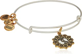 Alex and Ani Women's Scorpio Two Tone Bangle Bracelet